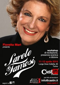 Workshop con Fioretta Mari